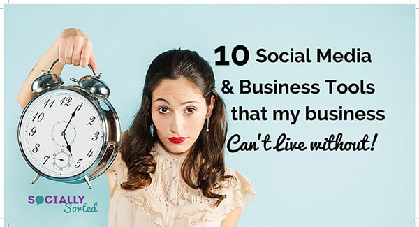 10 BUSINESS TOOLS I CAN'T LIVE WITHOUT | What I NEED to Run My Business