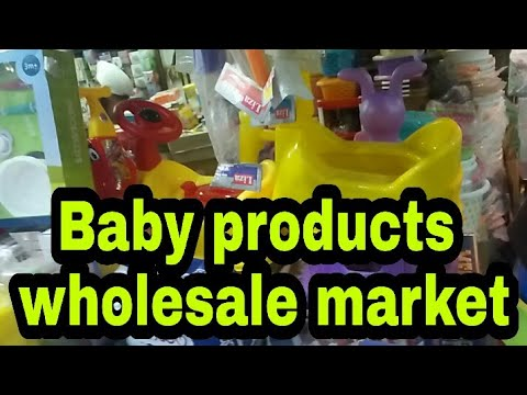 Baby Item Wholesale Market, Top Baby Care Product, Toys, Walker, Cycle, Rocker, Diapers, Jhandewalan